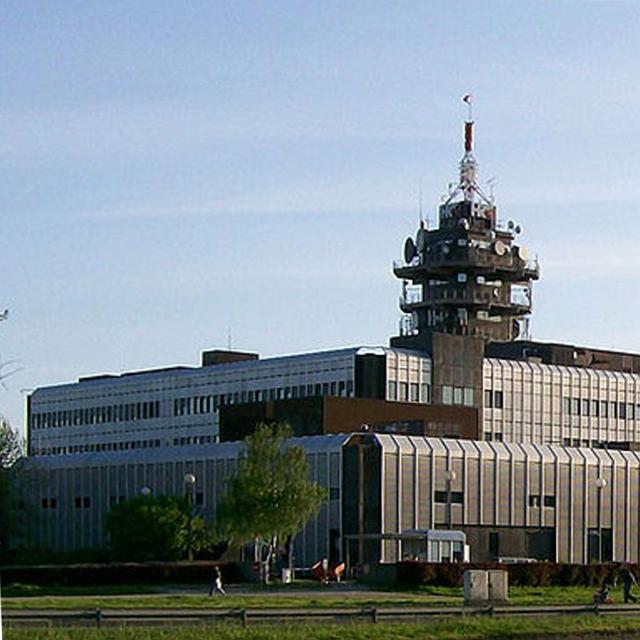 Siedziba HRT - chorwacki potentat radiowo - telewizyjny
